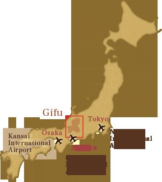 Okuhida Shinhotaka Onsen Hotel Hotaka - Japan map gifu